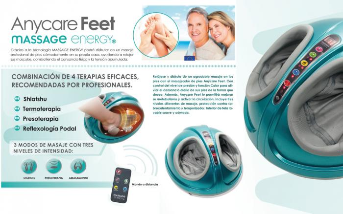 PRESOTERAPIA PIES MASSAGE ENERGY