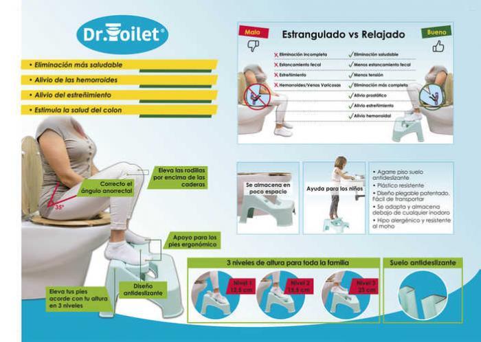 TABURETE FISIOLOGICO DR.TOILET