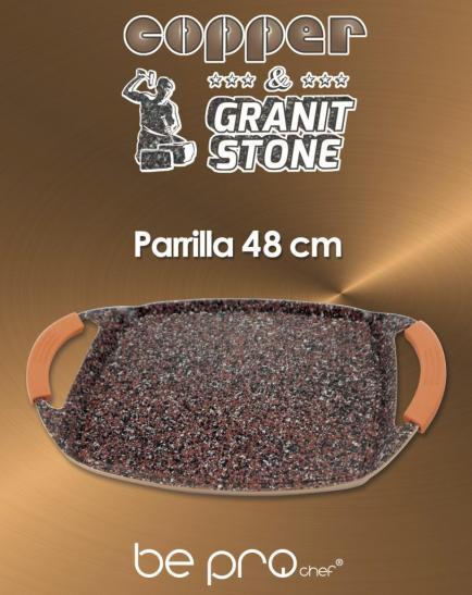 Bepro chef Parrilla Cooper&Granit Stone