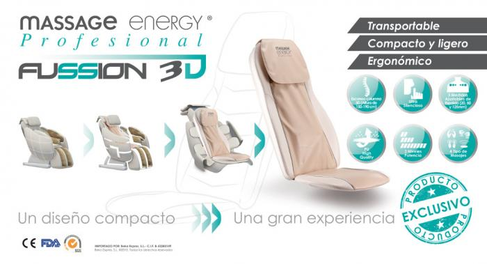 MASSAGE ENERGY FUSSION 3D