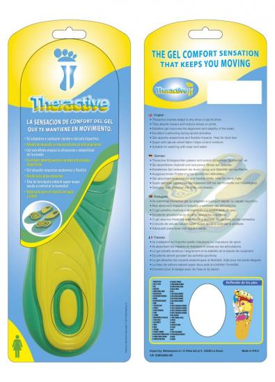 PLANTILLAS DE GEL THERACTIVE