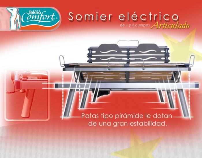 SOMIER ELECTRICO TEKNO COMFORT